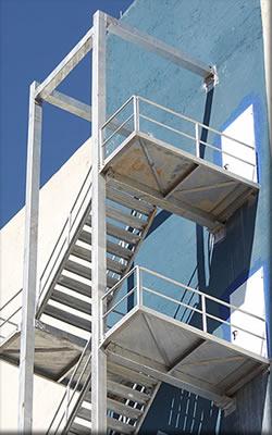 Yangın merdiveni fiyatları izmir